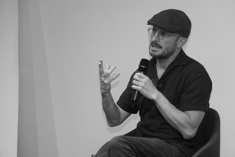 Darren Aronofsky en Armenia imagen de archivo libre de regalías