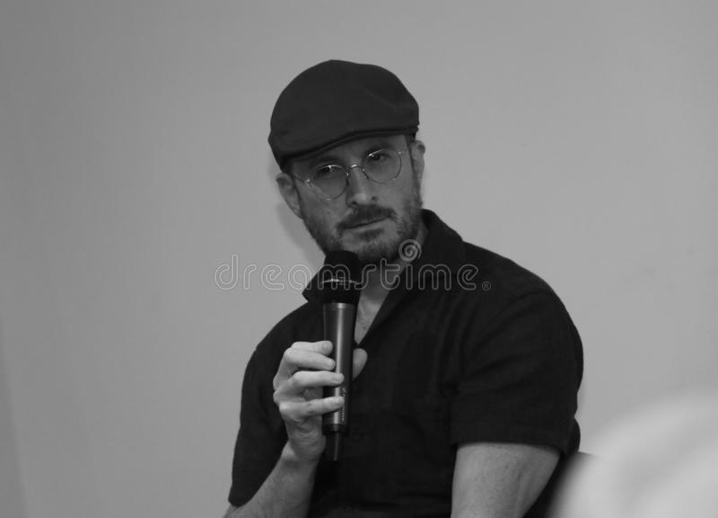 Darren Aronofsky en Armenia imagenes de archivo