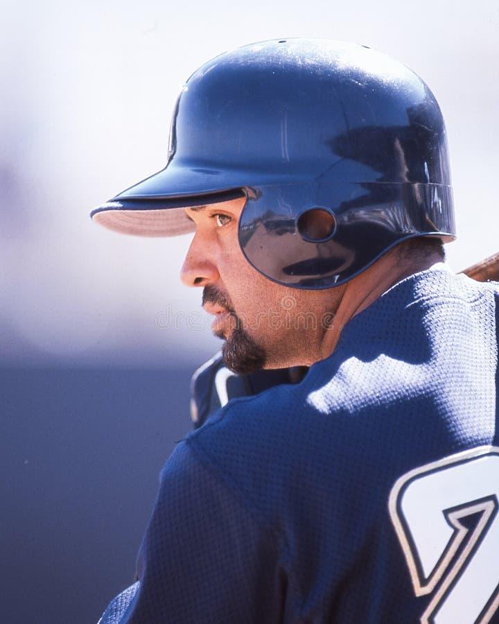 Darrin Jackson, Milwaukee Brewers lizenzfreie stockbilder