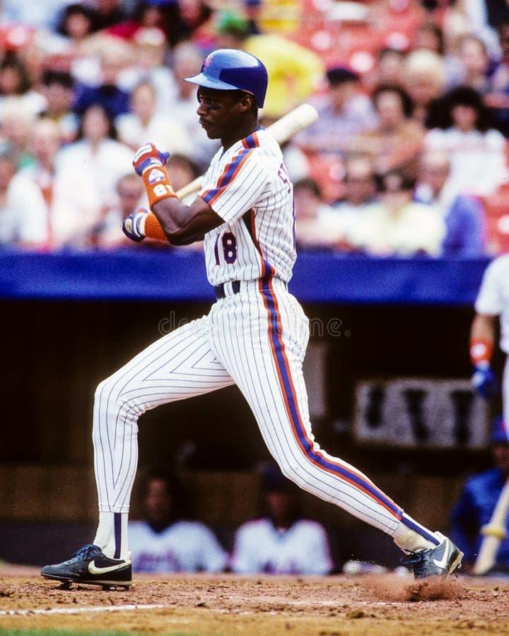Darryl Strawberry, New York Mets stock image