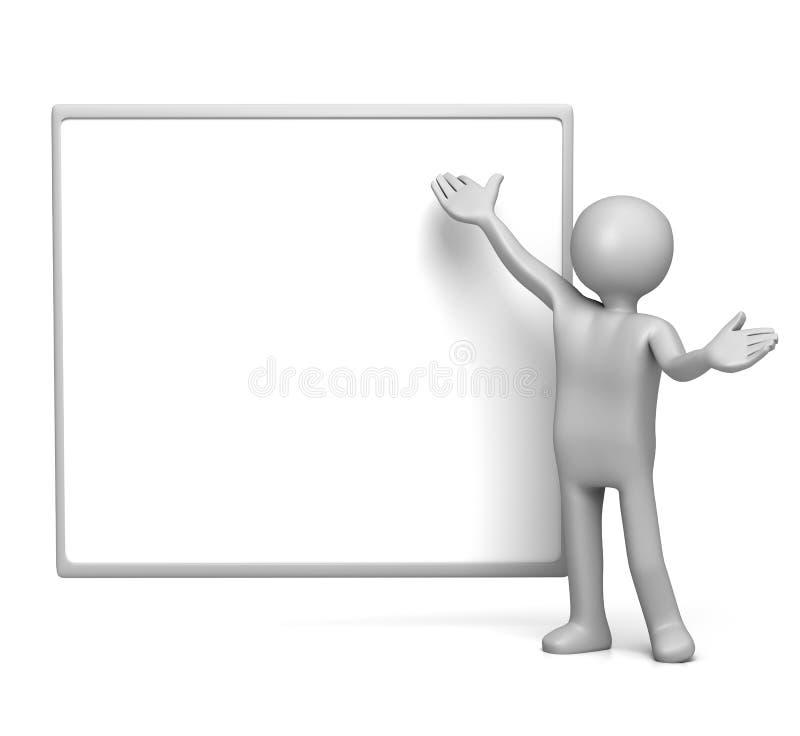 Darstellen auf leerem whiteboard