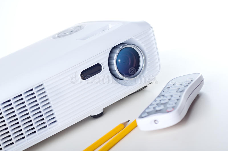 Darstellungs-Projektor lizenzfreie stockfotos