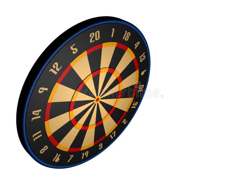 Download Dart board stock illustration. Image of render, model - 1013343