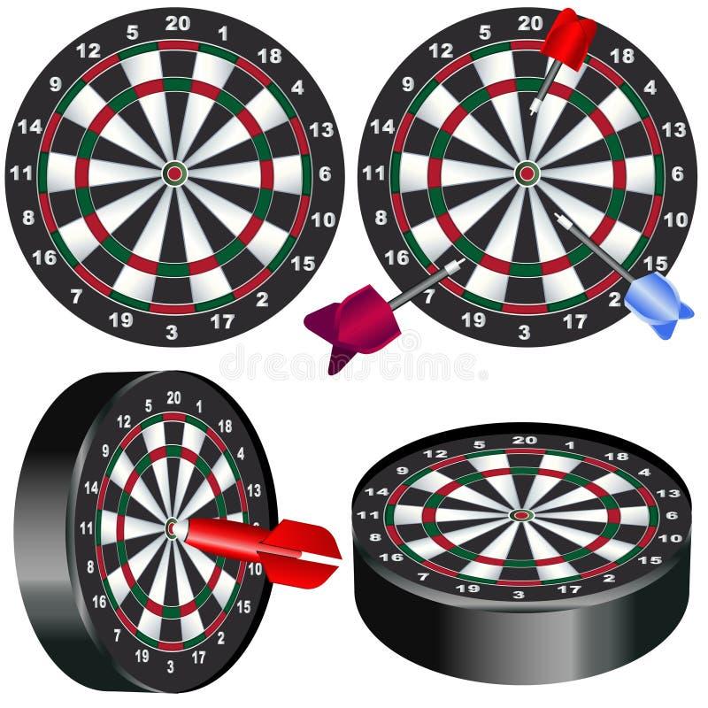 Dart Board Royalty Free Stock Photography