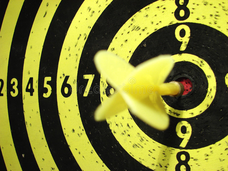 Download Dart-board and target stock photo. Image of course, success - 2799758