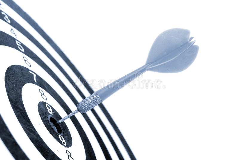 Dart And Dart Board Royalty Free Stock Images