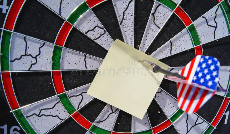 Download Dart and note stock image. Image of compete, challenge - 24662183