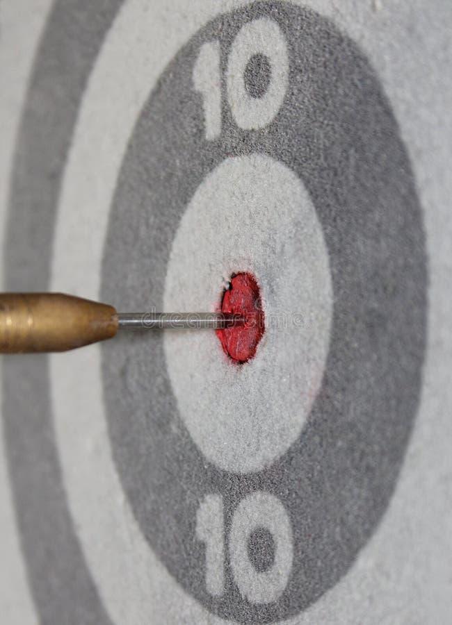 Dart in target royalty free stock image