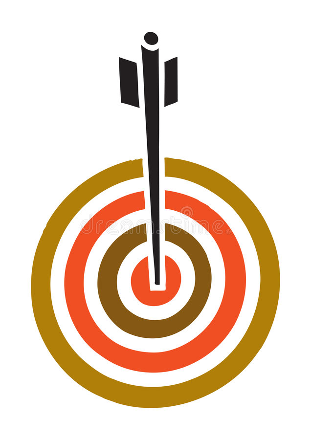 Download Dart - vector stock vector. Image of arrow, circle, isolated - 5631132