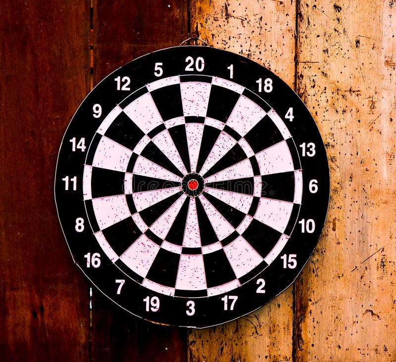Download The Dartboard stock photo. Image of playing, floor, aged - 27923626