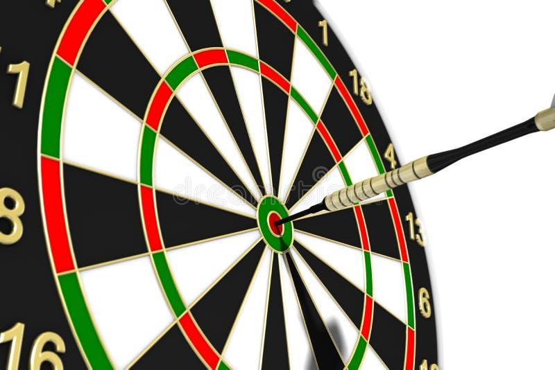 Download Dartboard stock illustration. Image of bullseye, aiming - 4126703