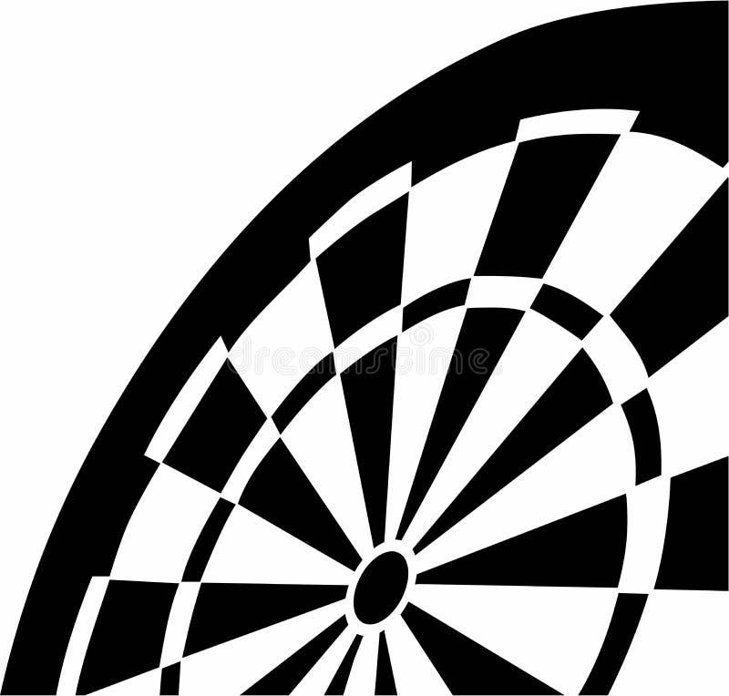 dartboard vektor abbildung