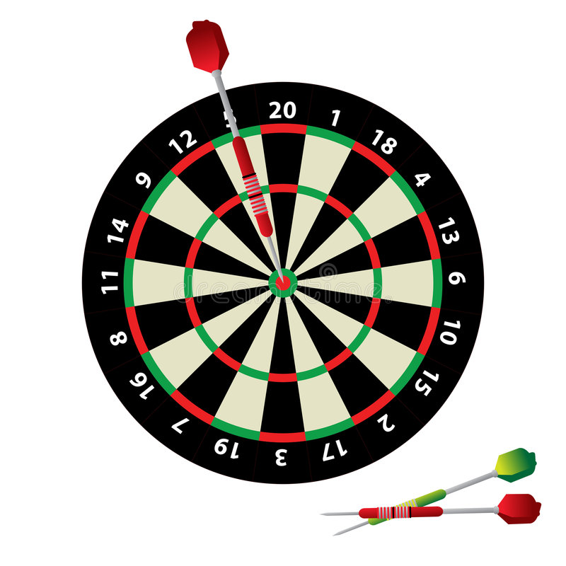 Download Dartboard And Darts Royalty Free Stock Photography - Image: 5344217