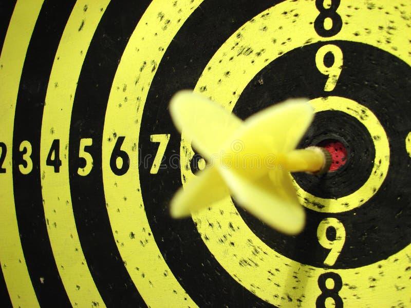 Dartboard en doel royalty-vrije stock foto's