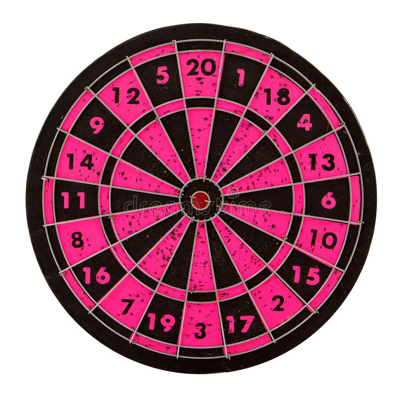 Download Dartboard isolated stock photo. Image of circular, concept - 24659786