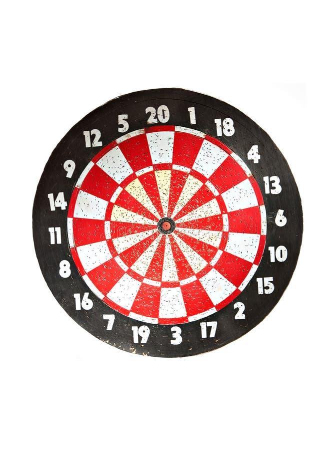 Free Dartboard On White Royalty Free Stock Photography - 18260237