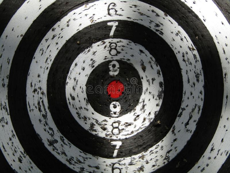 Dartboard target macro. This photo shows a dartboard target macro royalty free stock photos