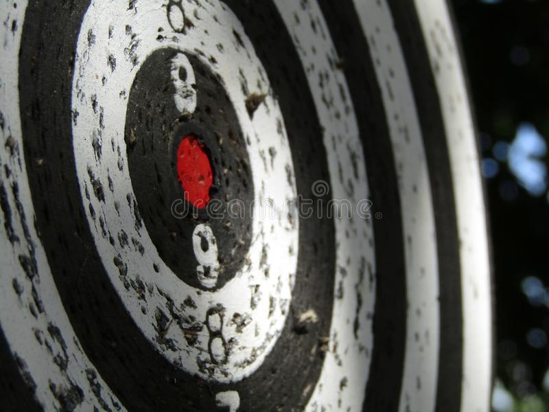 Dartboard target macro. This photo shows a dartboard target macro stock photo