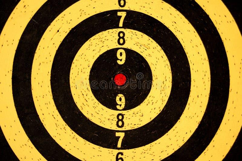Dartboardziel mit Zahlen lizenzfreies stockfoto