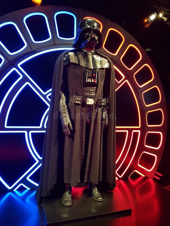 Darth Vader от Звездных войн стоковое изображение