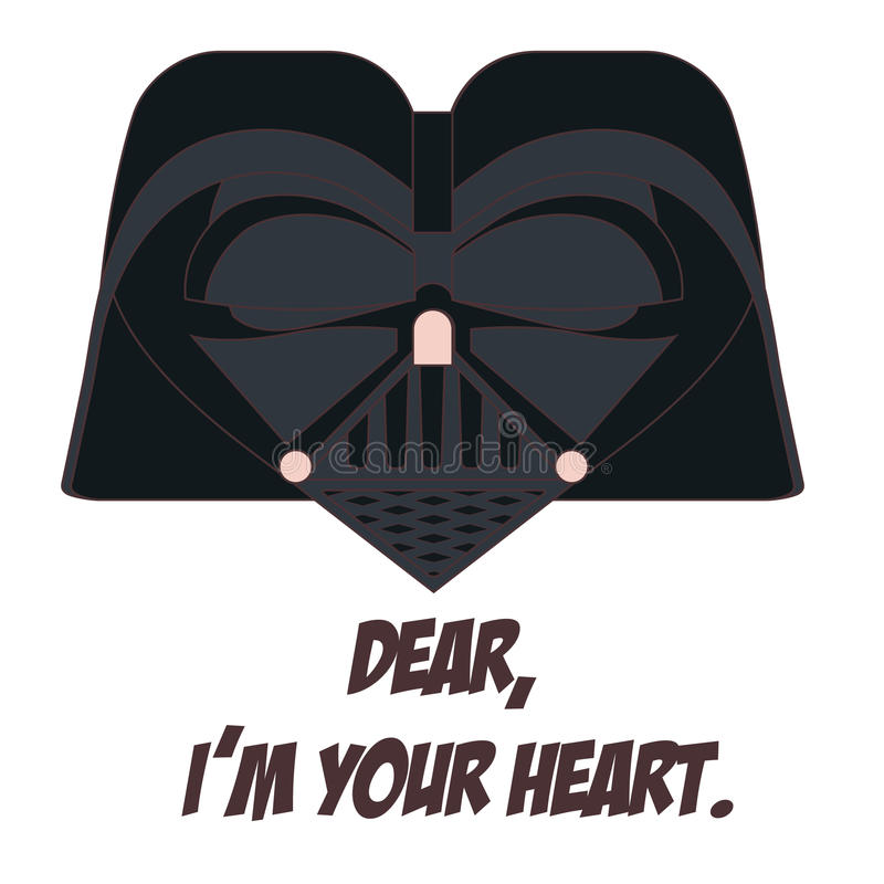 Darth Vader royalty illustrazione gratis