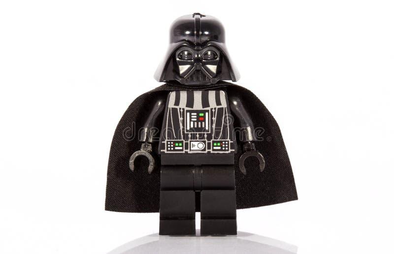 Darth Vader Lego Figure photos libres de droits