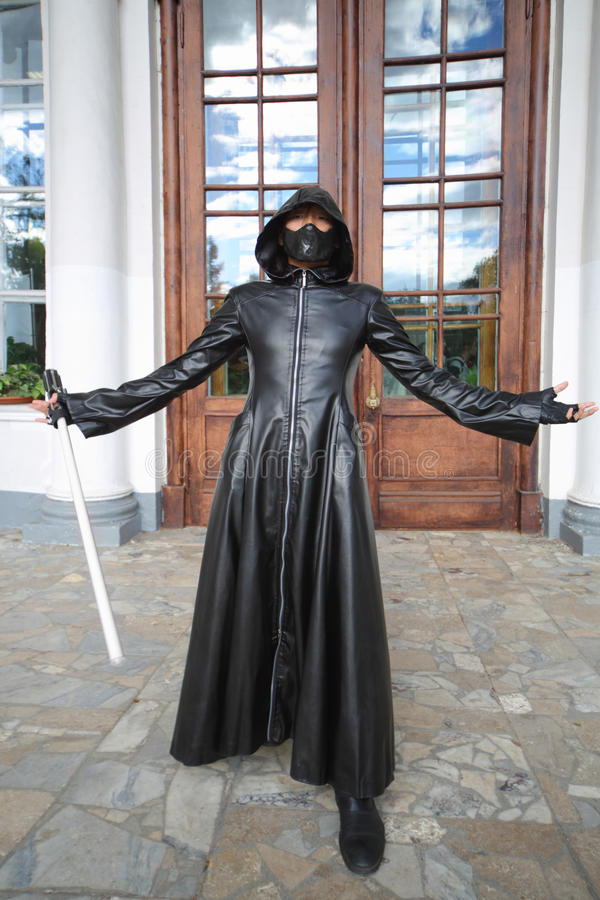 Darth Vader przy festiwalem Everycon fotografia royalty free