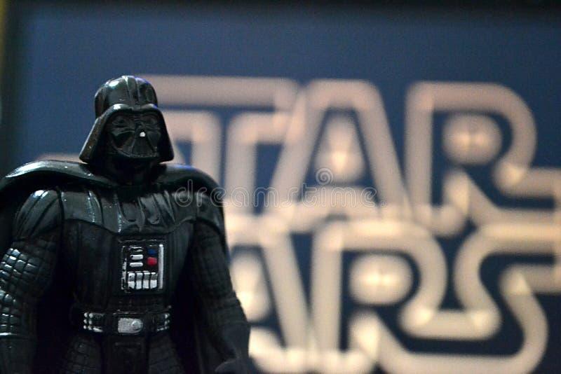 Darth Vader Star Wars arkivfoto