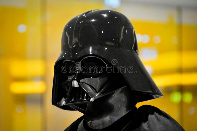 Darth Vader von Star Wars stockfotos