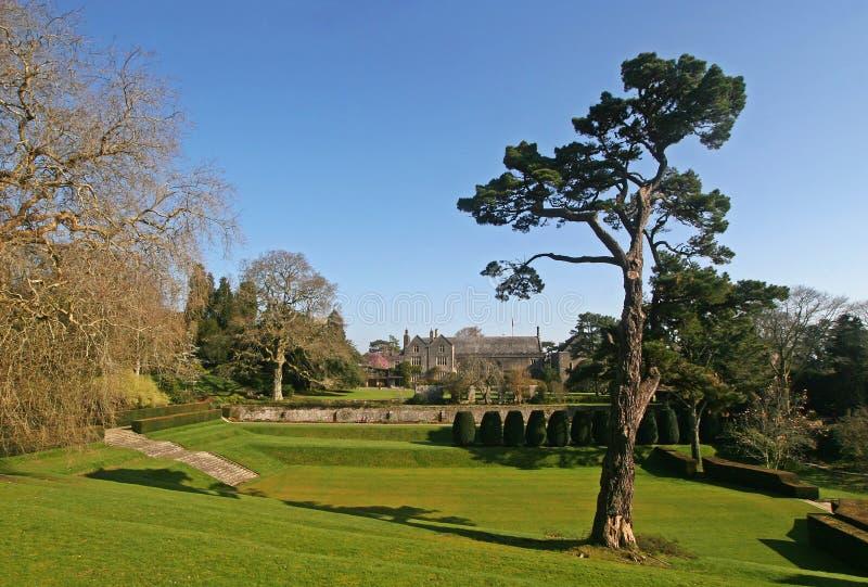 Dartington Hall, Devon image stock