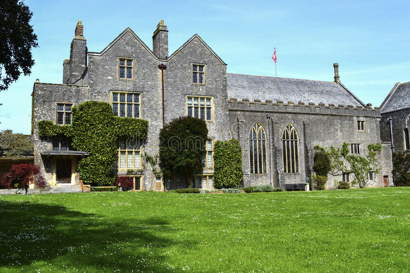 Dartington Hall England a magnet for artists, architects, writers, philosophers and musicians. Dartington Hall in Dartington, near Totnes, Devon, England, is a stock photo