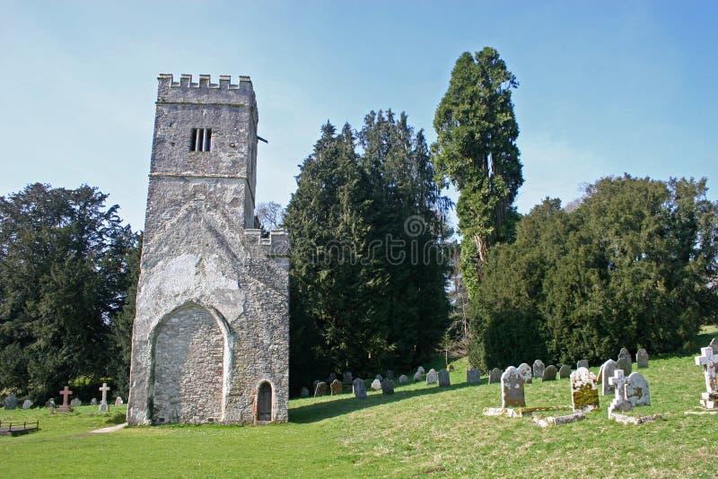 dartington kościelny wierza obraz royalty free