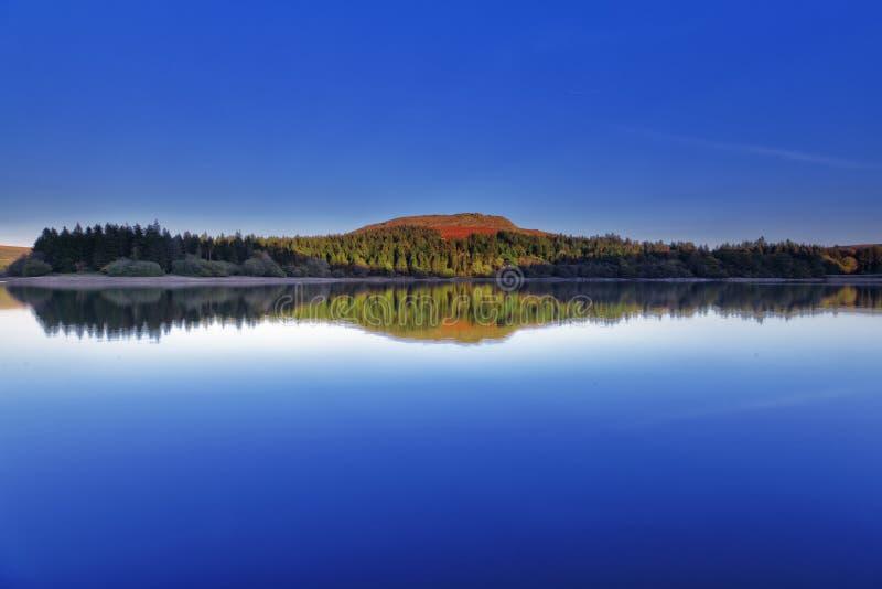 dartmoor水库 库存图片