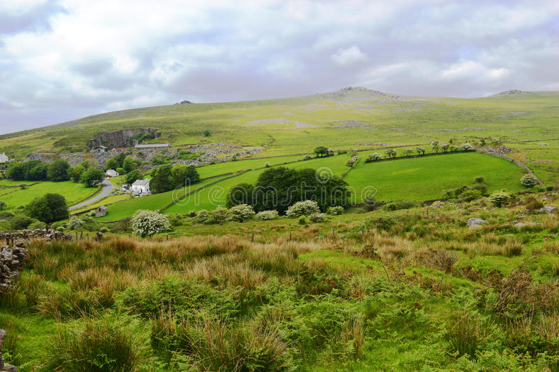 dartmoor imagen de archivo libre de regalías