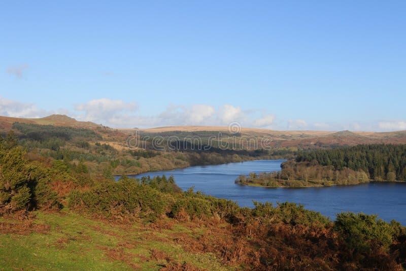 Dartmoor Autumn Colours. Autumn arrives in Burrator Dartmoor National Park royalty free stock photos
