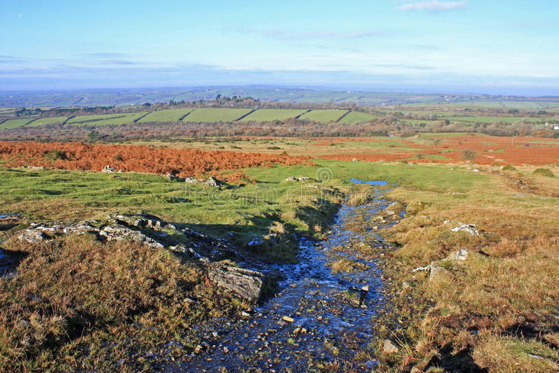 Dartmoor, Devon royalty-vrije stock foto's