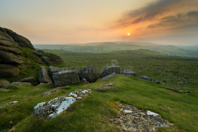 Dartmoor, Devon royalty-vrije stock fotografie