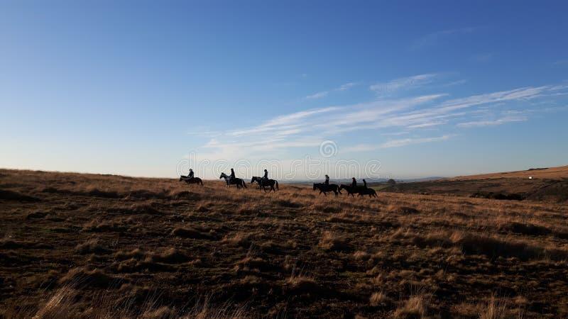 Dartmoor en Devon photos stock