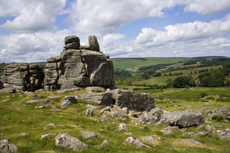 Dartmoor escénico fotos de archivo libres de regalías