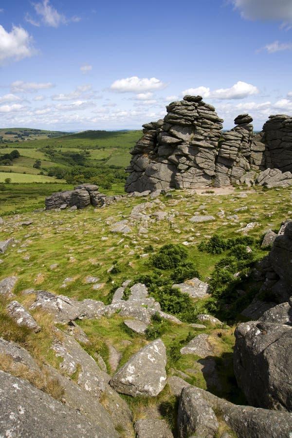 Dartmoor escénico fotos de archivo