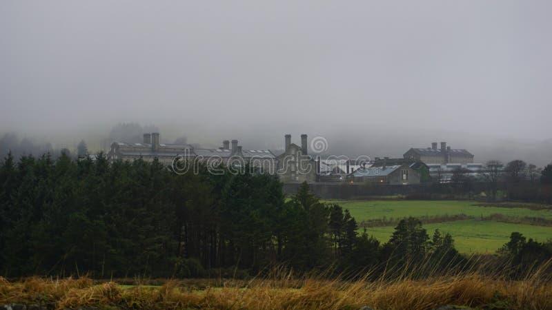 Dartmoor fängelse royaltyfri bild