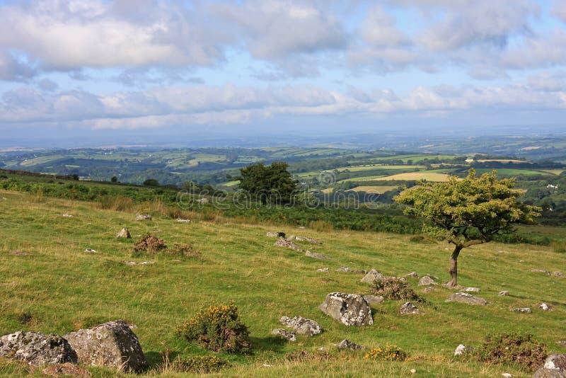 Dartmoor stock image