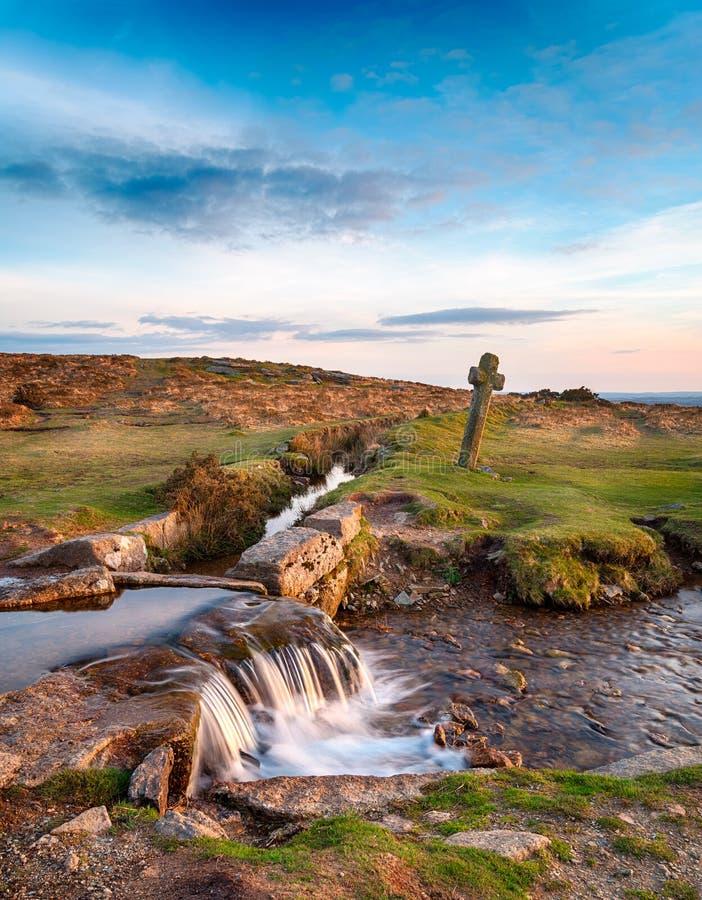 Dartmoor Nationaal Park royalty-vrije stock fotografie