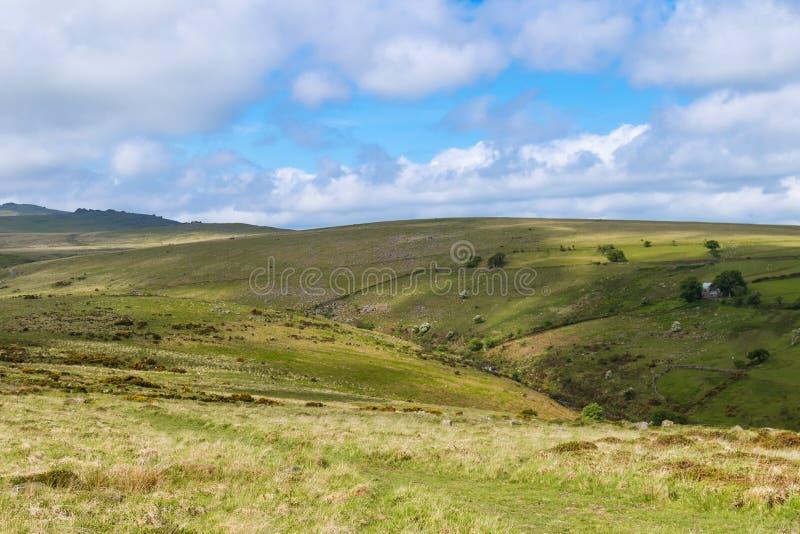 Dartmoor nationalpark arkivfoton