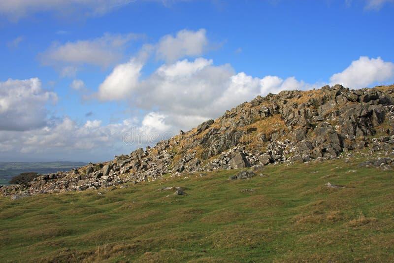Download Dartmoor Tor stock image. Image of dartmoor, grass, volcanic - 23876053