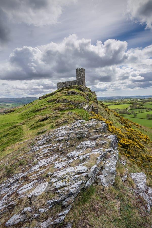 Dartmoorkerk stock fotografie