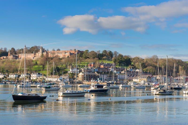 Dartmouth in Devon del sud immagini stock libere da diritti