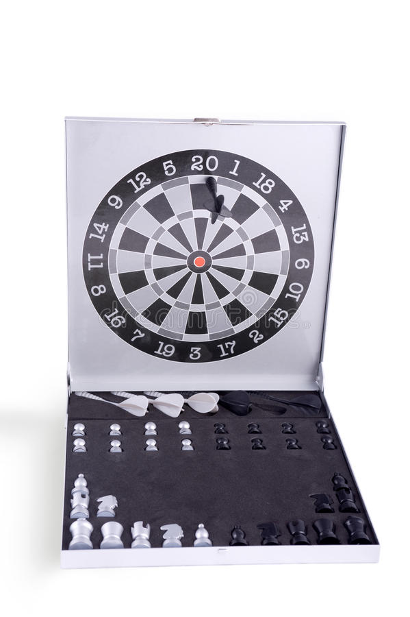 Free Darts And Chess Set Royalty Free Stock Photo - 12909065