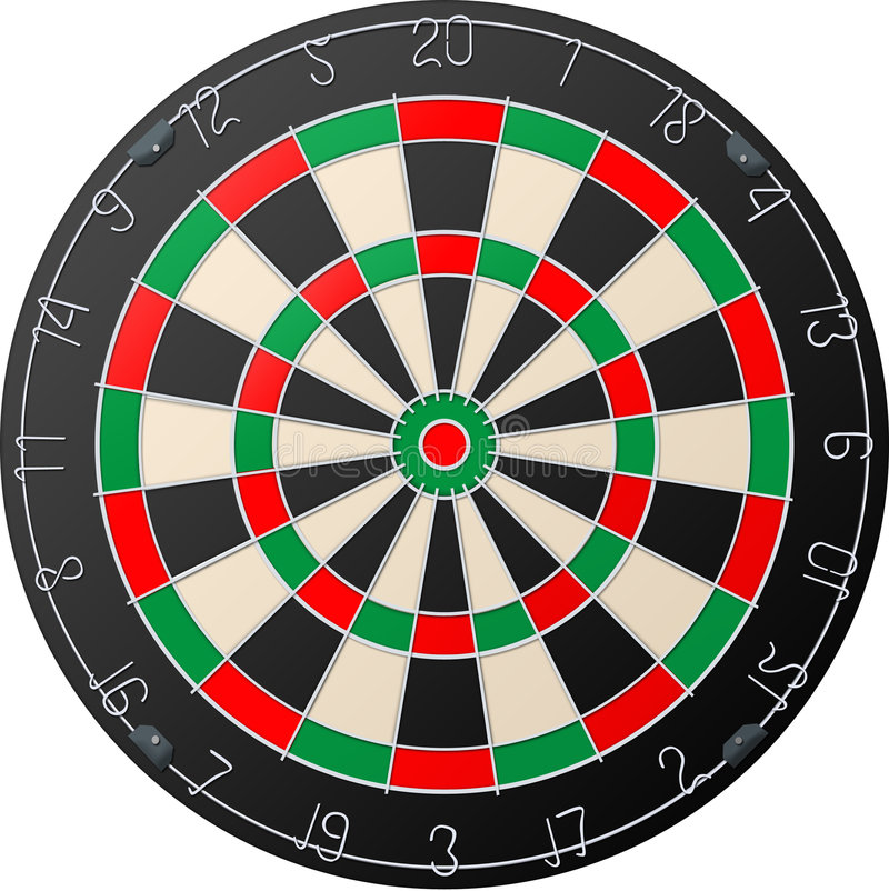 Download Darts board stock image. Image of object, vintage, hobby - 4858539