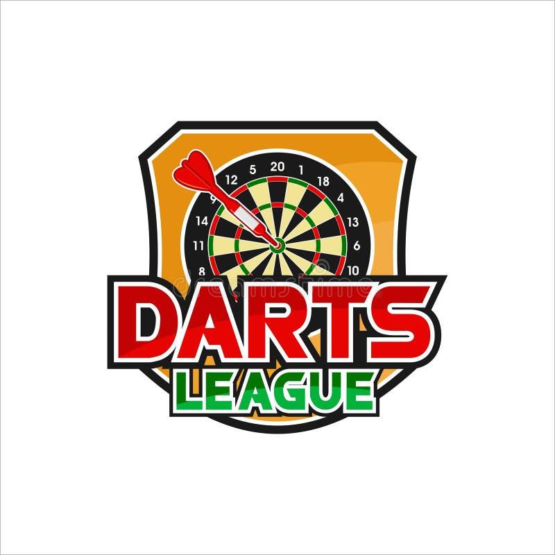 Free Darts League Vector Design Logo Stock Photos - 160876873